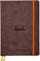 Bullet Journal Rhodia A5 120vel dots chocolade bruin