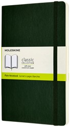 Notitieboek Moleskine L 130x210mm blanco myrtle green