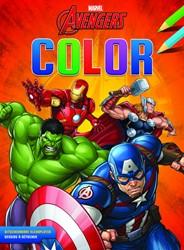 Kleurboek Deltas Avengers color