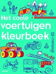 Kleurboek Het coole voertuigen kleurboek