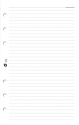 Notitiepapier Succes Mini gelinieerd wit