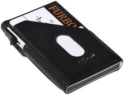 Kaarthouder Tony Perotti Slim Furbo RFID leer zwart
