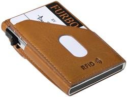 Kaarthouder Tony Perotti Slim Furbo RFID leer honing