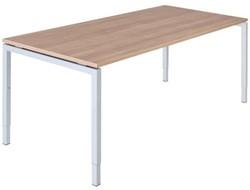 Bureautafel serie 55 160X80cm hoogte instelbaar 62-86cm
