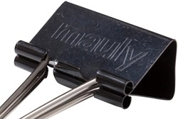 Papierklem Maul 215 Foldback 32mm capaciteit 13mm zwart p/12