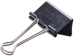 Papierklem Maul 215 Foldback 41mm capaciteit 19mm zwart p/6