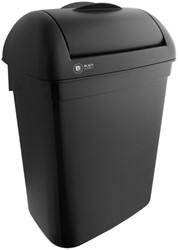 Afvalbak Satino Black Hygiene box 8 liter zwart