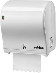 Dispenser Satino 331520 PT1 Handdoekrol Autocut Midi wit