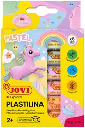 Boetseerklei Jovi  Plastalina15gr pastel ass kleuren