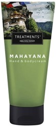Hand & bodycrème Treatments Mahayana zijdezacht 200ml