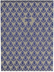 Agenda 2021 feathers all-over peacock