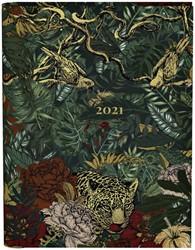 Agenda 2021 wire-o green leopard botanic