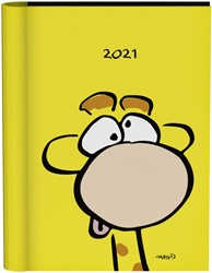 Agenda 2021 wire-o geel giraf vis