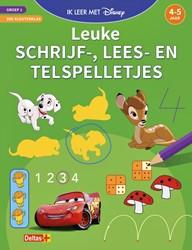 Oefenboek Disney met leuke schrijf-, lees- en telspelletjes