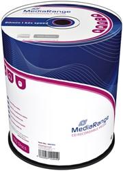 CD-R MediaRange 700MB|80min 52x speed, 100 stuks