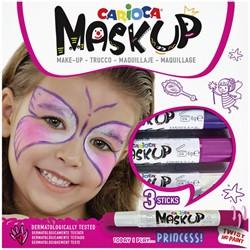 Schminkstift Carioca make-up prinses set à 3 kleuren