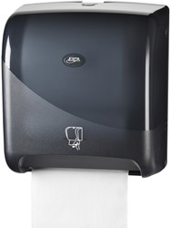 Dispenser Euro Pearl handdoekrol matic zwart