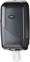 Dispenser Euro Pearl poetsrol mini zwart