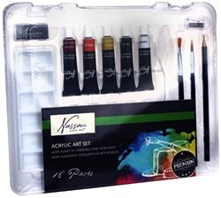 Acrylverf Nassau Art startersset 18-delig