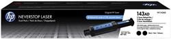 TONER HP HP 143A NAVULLING  W1143AD 2x zwart