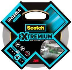 Plakband Scotch Extremium invisible 48mmx20m