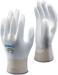 Griphandschoen Showa B0500 wit Medium