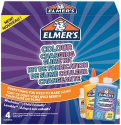 Kinderlijm Elmer's slijmkit kleurveranderende kleuren blauw paars