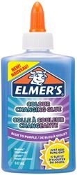 Kinderlijm Elmer's kleurveranderde 147ml blauw