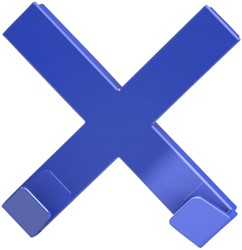Mega Magnet Dahle Cross XL blauw