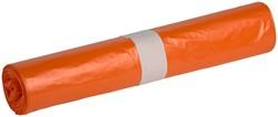 Afvalzak Powersterko T25 120liter oranje