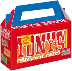 Chocolade Tony's Chocolonely  Rainbowpack Classic 3 repen à 180gr