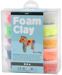 Klei Foam Clay basis 35gr assorti