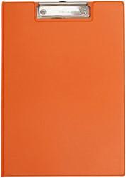 Klembordmap MAUL A4 staand met penlus neon oranje