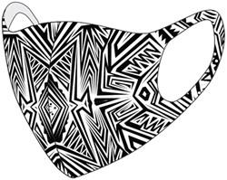 Mondkapje wasbaar tattoo
