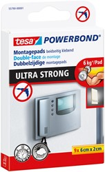 Powerbond Tesa 55790 montagetape ultra 2x6cm 9 stuks