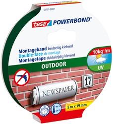 Powerbond Tesa 55751 montagetape outdoor 19mmx5m