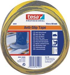 Antisliptape Tesa 60951 15mmx50m zwart/geel