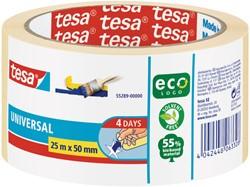 Afplaktape Tesa 55289 basic 50mmx25m