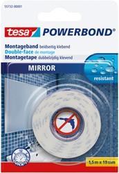 Powerbond Tesa 55732 voor spiegels 19mmx1,5m