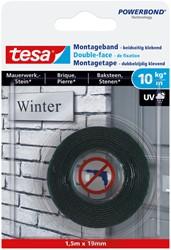 Powerbond Tesa 77748 montagetape baksteen 19mmx1,5m