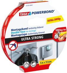 Powerbond Tesa 55792 montagetape ultra 19mmx5m