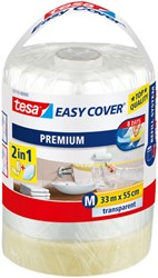 Afdekfolie Tesa 57115 easy cover navulling 55cmx33m