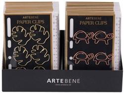 Paperclip Artebene metaal blad of schildpad