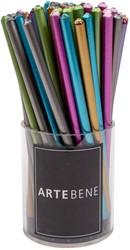 Potlood Artebene metallic 6 kleuren