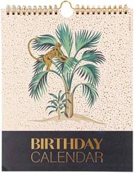 Verjaardagskalander ArtEbene 21x26cm jungle couture
