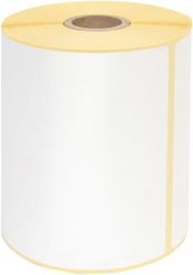 Zebra labeletiket Quantore 800284-605 102x210mm 25mm wit permanent