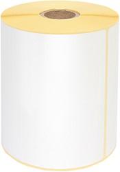 Zebra labeletiket Quantore 800264-605 102x150mm 25mm wit permanent