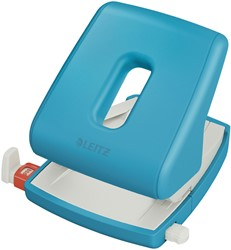 Perforator Leitz Cosy 2-gaats 30vel blauw
