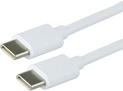 Kabel Green Mouse USB C-C 2.0 1 meter wit