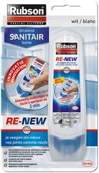 Voegkit Rubson Re-New stralend sanitair 100ml wit
